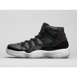 Air Jordan 11 72-10 2015 Retro Black Gym Red White Anthracite 378037-002